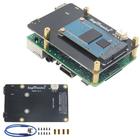Meilleurs prix Upgraded Version V3.1 X850 mSATA SSD Storage Expansion Board For Raspberry Pi 3 Model B / 2B / B+