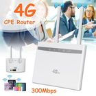Meilleurs prix 4G LTE CPE Router WiFi Wireless Repeater Hotspot Sim Card Modem Dual Antenna Car
