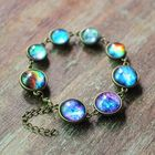 Buy at Best Price Cosmic Star Time Gem Double-Sided Glass Bracelet Necklace