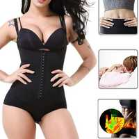 Sweat Sauna Body Shaper Women Vest Thermo Neoprene Trainer Sliming Waist Belt Tracksuit