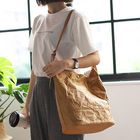 Discount pas cher Women Ladies Large Capacity Pure Color Handbag Crossbody Bag Shopping Bag