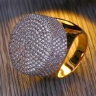 Meilleurs prix Diamond Band Micropave Men's Bling Ring