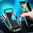 Acheter au meilleur prix Baseus 15W Qi Wireless Charger Gravity Electric Clamping Air Vent Car Phone Holder for 4.0-6.8 Inch Smart Phone for iPhone 11 Pro Max for Samsung Note 10 Xiaomi Mi 9