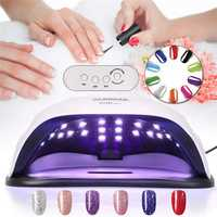 80W Nail Lamp UV LED Light Professional Nail Dryer Gel Machine Curing