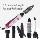 Prix de gros 6 in 1 Multi Functional Hair Styling Tools Set, Y.F.M Hair Curler Roller Hair Hairdressing Straightener Electric Hair Dryer Curling Iron