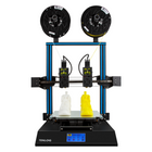 Meilleurs prix TENLOG® TL-D3 Pro Dual Extruder 3D Printer Kit 300*300*350mm Printing Size 4.3inch Large LCD Display Support Dual Nozzle/Print SD Card& USB Connect
