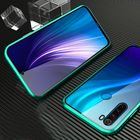 Promotion Bakeey Xiaomi Redmi Note 8 360º Curved Screen Front+Back Double-sided Full Body 9H Tempered Glass Metal Magnetic Adsorption Flip Protective Case