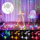 Recommandé AC220V 3Mx10M 1000LED Curtain Fairy String Light Holiday Lamp Festival Christmas Wedding Decor AU Plug
