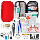 Meilleurs prix Full 304PCS Outdoor Emergency Survival Kit Gear Medical Bag for Home Office Car Boat Camping Hiking