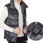 Recommandé Electric Vest Heated Cloth Jacket USB Warm Heating Pad Body Winter Warmer Gray