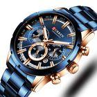Offres Flash CURREN 8355 Business Waterproof Men Quartz Watch