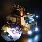 Prix de gros LED Light Lighting Kit ONLY For LEGO 42043 Technic For Benz Mercedes Arocs 3245 Vehicle Bricks Toys
