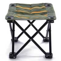 Portable Fishing Chair Campstool Mini Folding Stool Fishing Tackle