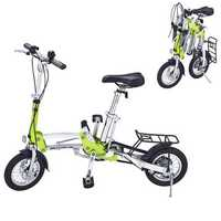 Folding Mini Bike 12inch Wheel Ultralight Speed Bicycle