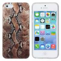 Serpentine Pattern Defender Soft TPU Case For iPhone 5 5s SE