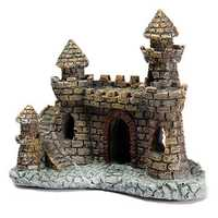 Aquarium Castle Tower Ornament For Fish Tank Decoration
