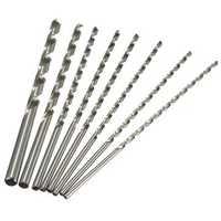 4mm To 10mm Diameter Extra Long HSS Auger Twist Drill Bit Straigth Shank 200mm