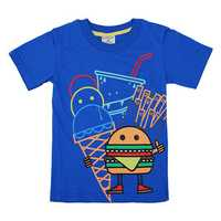 Little Maven Lovely Hamburger Baby Children Boy T-shirt