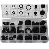 125pcs Rubber Seal Plumbing Gromment Assortment Set