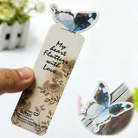 Butterfly Bookmark Memo Note Clip Gift Style Paper Cartoon