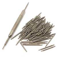 108Pcs 8-25mm Stainless Steel Watch Band Spring Bar Pin Remover Repair Tool