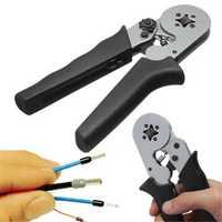 DANIU AWG24-10 Self-Adjustable Terminal Crimping Tool Wire Cord Crimper Plier 0.08-6mm²