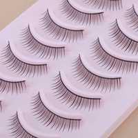 10 Pair Natural False Eyelashes Eye Lash Makeup 010