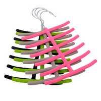 1x Scarves Necktie Rack Hanger Closet Non-slip Holder