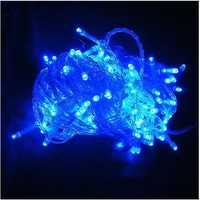 220V 500LED 50m Blue String Decoration Light For Christmas Party