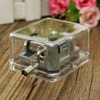 Mini Acrylic Music Box of Fur Elise / Castle in the Sky