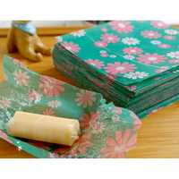 20pcs Candy Sweet Wrapping Paper Daisy Heart Shaped Candy Packing Paper