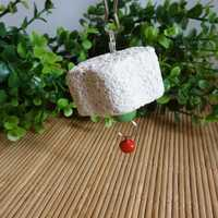 Hamster Parrot Chew Toys Grinding Stone Bird Mouth Molar Cage Toy
