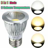 E27/GU10/E14/B22 8W COB LED Dimmable Downlight Bulbs Spotlight AC 85V-265V