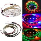 Les plus populaires 1M WS2812B 5050 RGB Non-Waterproof 60 LED Strip Light Dream Color Changing Individual Addressable DC 5V