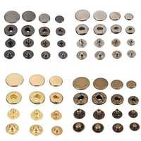 15Pcs Snap Fasteners Popper Press Stud Sewing Leather Button