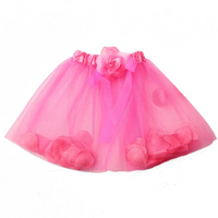 Baby Girls Petal Princess Skirt Fancy Tutus Dance Dress