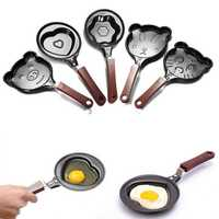 Mini Non Stick Cartoon Omelette Fry Pan Egg Frying Pan
