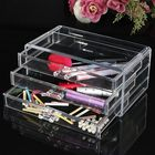 Meilleurs prix Three Layer Acrylic Cosmetic Organizer Container