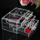 Promotion Acrylic Clear Cosmetic Container Makeup Storage Organizer