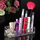 Prix de gros 12 Quadrate Acrylic Clear Cosmetic Container Makeup Storage Organizer