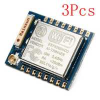3Pcs ESP8266 ESP-07 Remote Serial Port WIFI Transceiver Wireless Module