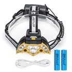Meilleurs prix Elfeland 5000LM Headlamp with 18650 Batteries USB Rechargeable Camping Lamp Hunting Cycling Flashlight