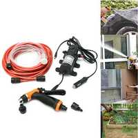 12V 100W High Pressure Self-Priming Electric Car Portable Wash Washer Water Pump
