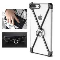 Oatsbasf Metal Bumper Ring Grip Holder For iPhone 7/7 Plus & 8/8 Plus