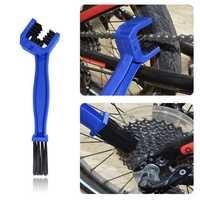 BIKIGHT Bicycle Road Bike Motorcycle PVC Chain Clean Brush Gears Maintenance Cycling Washer