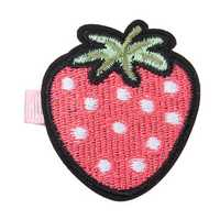 Cute Embroidery Fruit Lovely Girls Hairpin