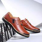 Meilleurs prix Large Size Men Genuine Leather Shoes