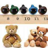 100pcs 14mm Baby Kids Handicraft Art Mix Color Plastic Safety Eyes DIY Teddy Bear Doll Plush Toys Puppet Crafts
