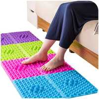 Colorful Acupuncture Moxibustion Foot Massager Medical Therapy Mat Foot Massage Pad