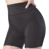 Plus Size Buttocks Pad Hip Lifting High Waist Elastic Shapewear